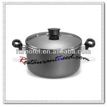 S444 3.5L/4.5L/6.0L Aluminium Alloy Non-stick Dutch Oven
