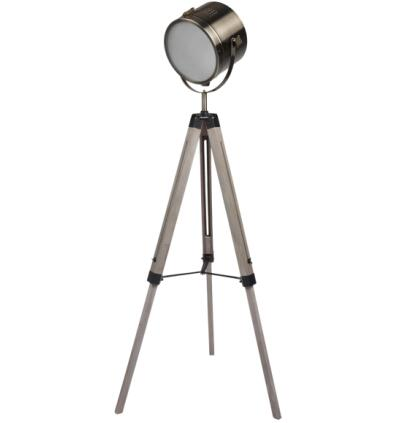 High Quality Solid Wood Tripod Standing Floor Lamps