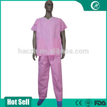 disposable Orange scrub suits