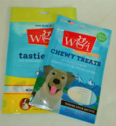 Clear Window for Pet Food Plastic Bag