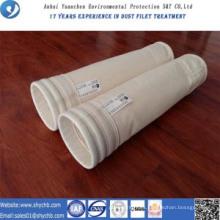 Bolsa de colector de polvo de bolsa de filtro de aire PPS HEPA para la industria