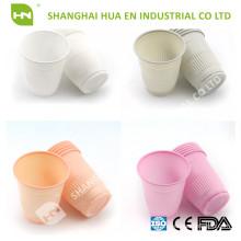 Зеленый пластик 5oz стоматологические одноразовые чашки