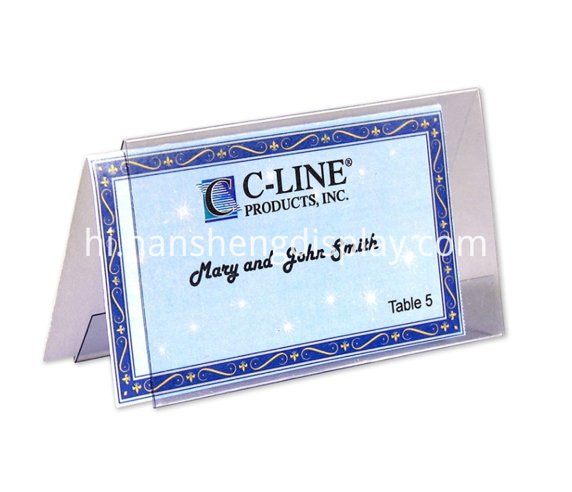 Card Sign Holder