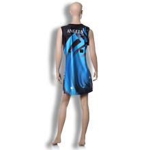 Fashion cheap netball dress polyester netball skirt