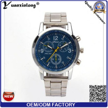 Yxl-668 Luxury Quartz Stainless Steel Dise Watch Water Resistant Business Watch 2016 Chronograph Japan Movement