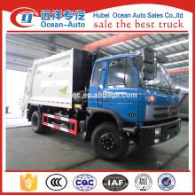 4X2 10CBM Müllwagen Abmessungen zum Verkauf