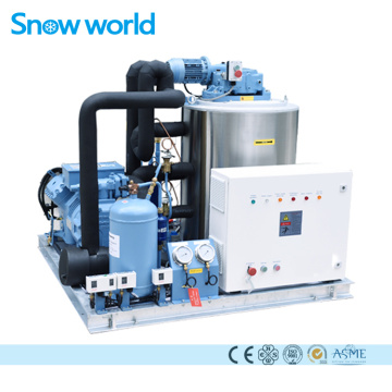 Snow world Machine à glace en écaille 3T Eau de mer