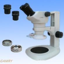 Stereo Zoom Microscópio Série Jyc0850 com suporte de tipo diferente