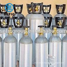 10LBS 15lBS 20lBS co2 aluminum bottle, gas cylinder