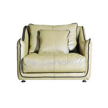 Full Leather Chair, Full Leather Single Seater Sofa,leather sofa