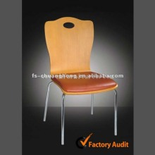Modern Dining Chair with Leather Cushion (YC-B69-01)