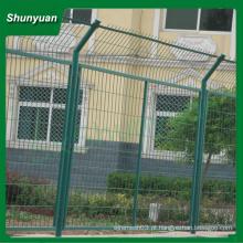 PVC revestido cerca / emoldurado cerca de malha de arame / cerca de compensação (fabricante)