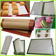 Горячие Продажа микроволновых жарки выпечки коврики силиконовые