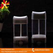 75ml de desodorante de palo de velocidad de perfume de plástico