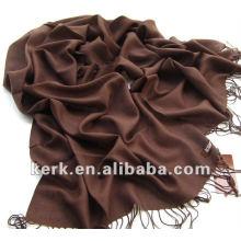 Venda de ações! 2012 moda Pashmina liso lenço e xaile, Stock 40 cores Preço por Atacado, 100% Pashmina