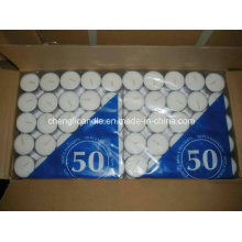 Wholesale in Bulk Cheap White Unscented Tealight Candles