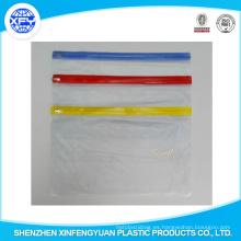 Bolsa de lápiz de PVC de la escuela con el conjunto de papelería