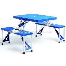 Пластик дешевый кемпинг стол для пикника
