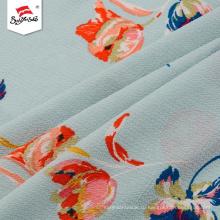 Desgin Удобная полиэфирная цветочная шифоновая ткань для печати