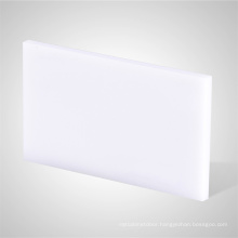 Rigid plastic 3mm 5mm white cast acrylic sheet