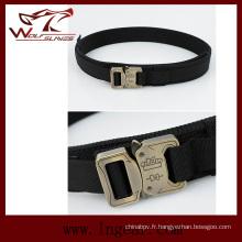 Boucle de ceinture militaire de ceinture en nylon 1,5 pouces Molle taille pour Wargame ceinture