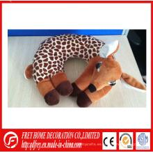 Juguetes lindos de peluche de ciervo cuello de almohada para el regalo del bebé