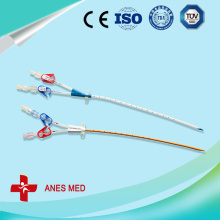Double Lumen Antimicrobial hemodialysis catheter