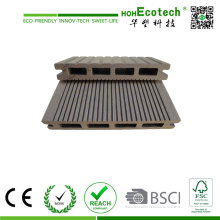 Anti-Slid Grooves Outdoor Composite Deck Boden für Balkon