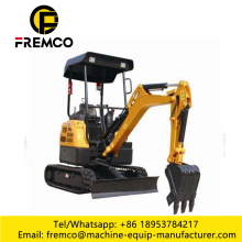 Small Construction Equipment Track Excavator