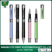 Chine Factory Stylo plume en métal de promotion de haute qualité