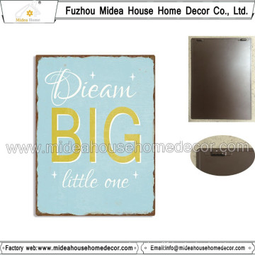 New Fashion Metal Wall Plaque with Latte for Decoration