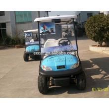 Ônibus de carrinho de golfe elétrico de 6 lugares / rua elétrica legal karts / 4 rodas de carro elétrico