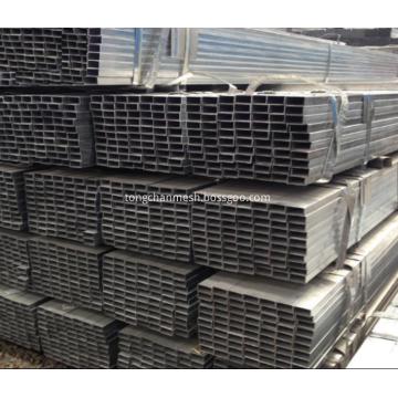 Tubos de aço galvanizados de seção oca