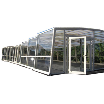 8M X 4M 두바이 WinterSwimming Pool Cover Enclosure