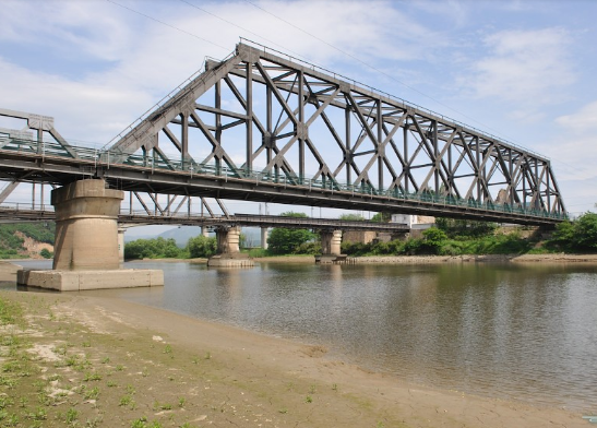 Steel Structure Overcrossing Bridge