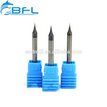 BFL CNC-Schneidwerkzeuge Schaftfräser 3 mm, Hartmetall-Schneidwerkzeuge Miniaturschaftfräser