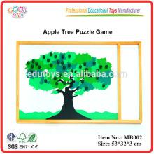 Montessori Puzzle - Apfelbaum Puzzle Spiel