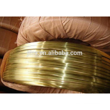 Hot sale H62 copper flat wire brass wire