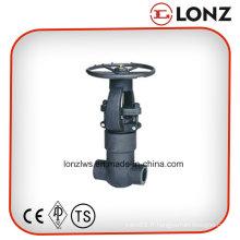 Valve de fermeture en acier forgé ANSI Pressure Seal