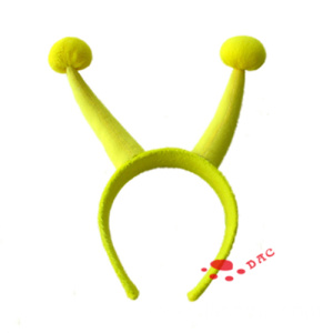 Antenna with Ball Shape Plush Hairclips
