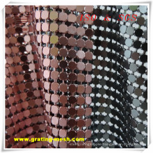 Cheap Decorative/ Stainless Steel/ Metal Curtain Mesh (ISO)