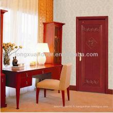 Porte de chambre à coucher, salle d'appartement en bois, porte en bois de qualité supérieure à vendre