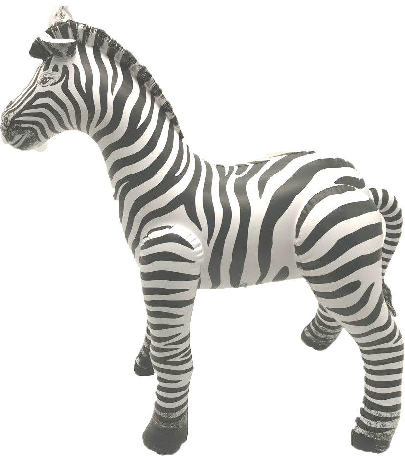PVC Inflatable Animal Decoration Zebra Tiger Lion Elephant
