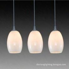 Popular glass single dining lamp glass pendant lamp