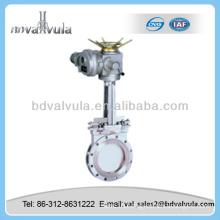 casting rising stem knife-gate valve