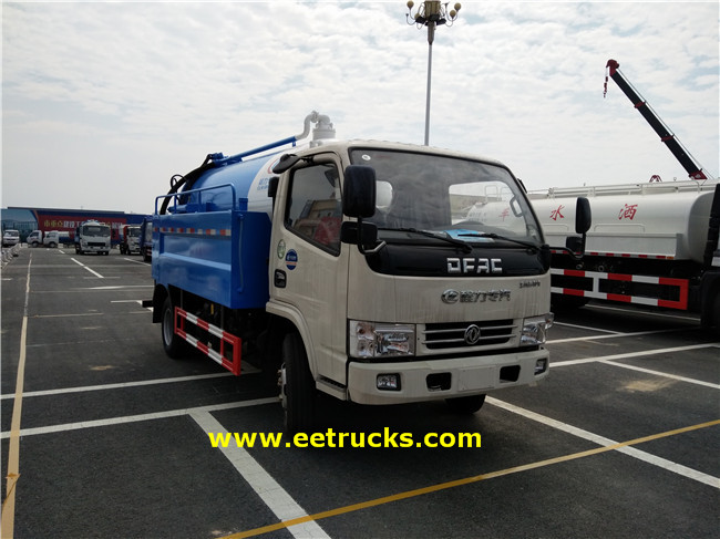 Dongfeng Sewage Suction Tankers