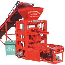QTJ4-26C Semi automatic concrete cement block and bricks making machines brick making machinery