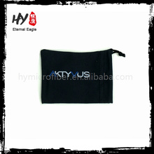 New design faux suede envelope pouch with low price