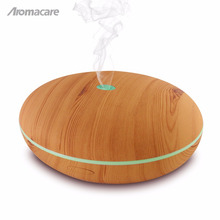 Aromacare 400ml ätherisches Öl Diffusor Ulme Holzmaserung Modell TH-15 heißer Verkauf Amazon Luftbefeuchter