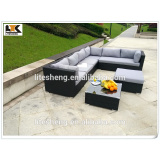 Modern Outdoor PE Rattan Best-selling Furniture Sectional Sofa